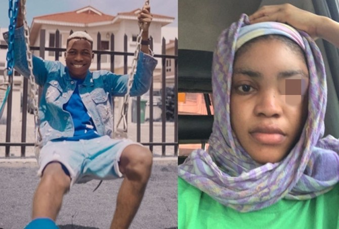 Finally, singer Lil Frosh breaks silence after allegation of physical assault on girlfriend