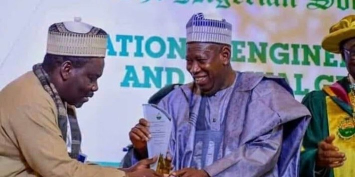 Ganduje sacks commissioner for rejoicing over Abba Kyari's death