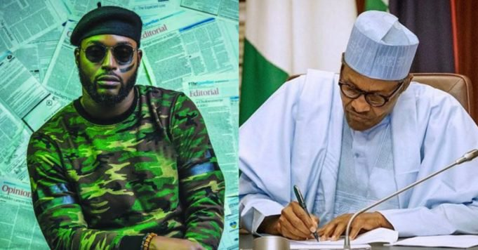 """""""If Buhari does not address us today, then it's safe to say we don't have a President"""" – DJ Neptune"""