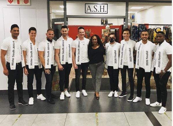 Photos: Mr South Africa contestants finally arrive Cape Town ahead of the crowning