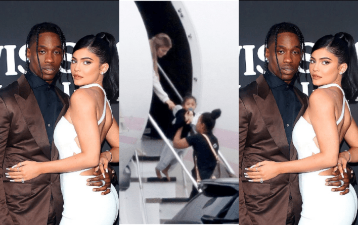 Kylie Jenner and Travis Scott reunite for weekend getaway with their daughter, Stormi