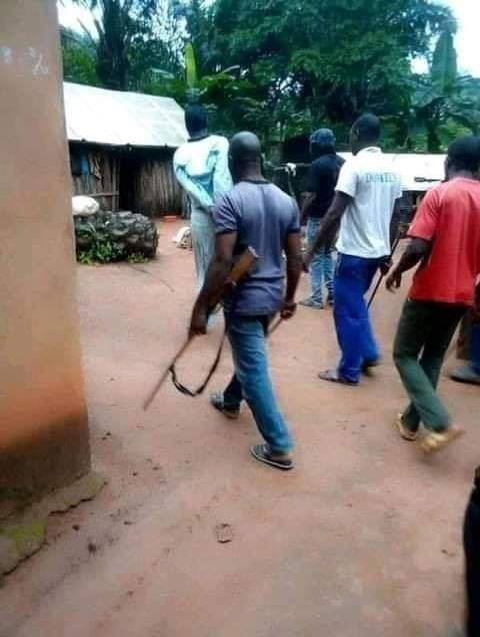 PHOTOS: Man allegedly kills parents in Enugu during misunderstanding