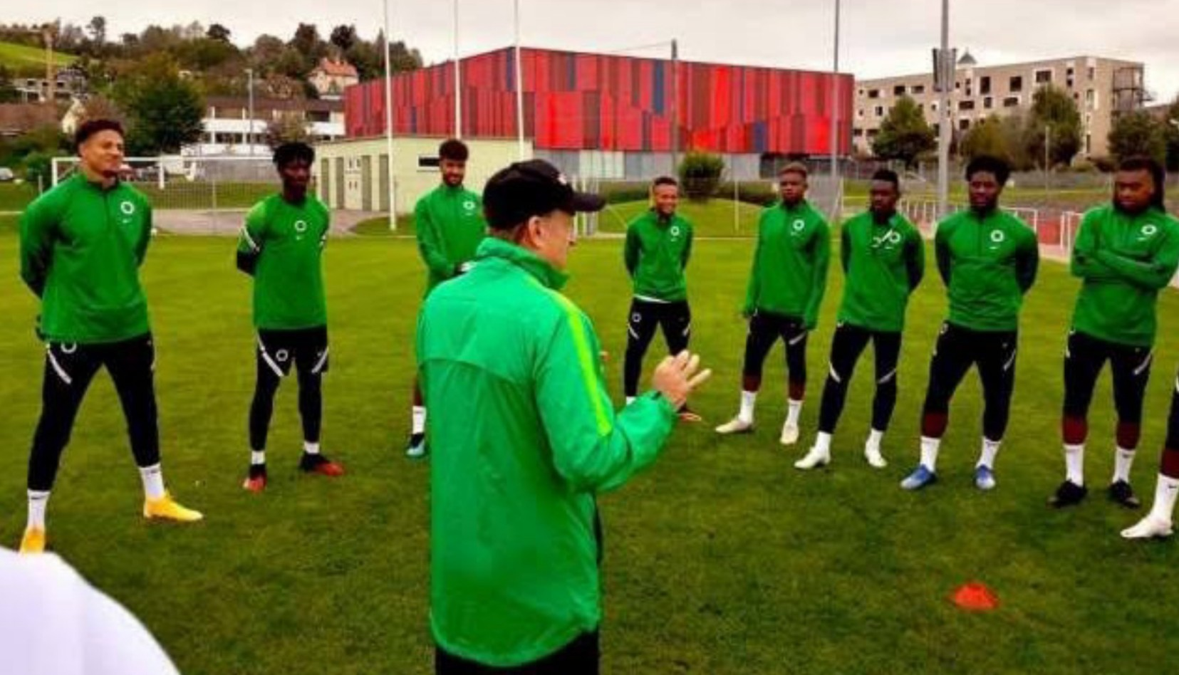 NFF clears air on 'four Super Eagles players testing positive to COVID-19'