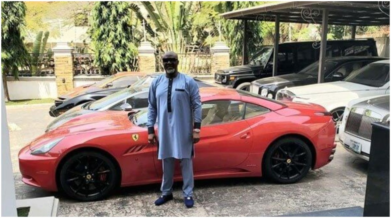 Nigerian Senator, Dino Melaye allegedly squanders N460 million on a Lamborghini Aventandor
