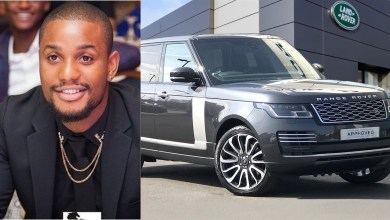 Nollywood actor, Alex Ekubo's good friend gifts him the latest Range Rover Autobiography
