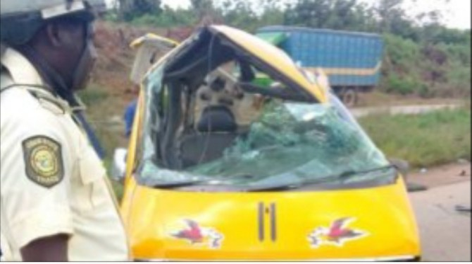 Ogun auto crash kills two, injures six