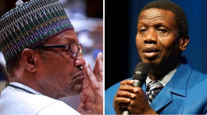 Pastor Adeboye reveals what President Buhari must do quickly to avoid Nigeria breaking up