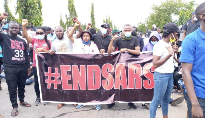 Nigerian man suspended from work for attending #EndSars protest, Nigerians react