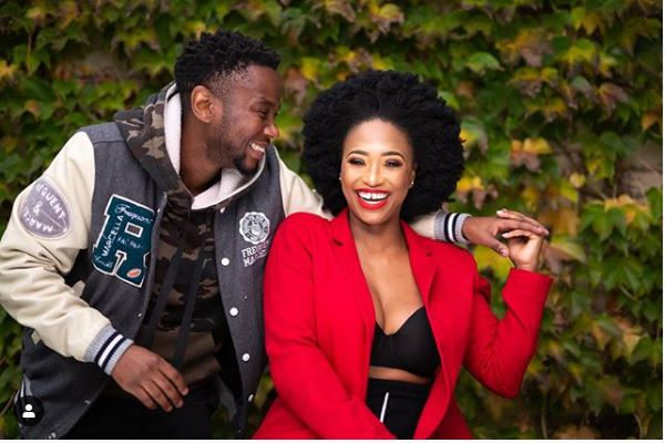Thomas Gumede appreciates baby mama, Zola Nombona for giving him his son, Cebelihle