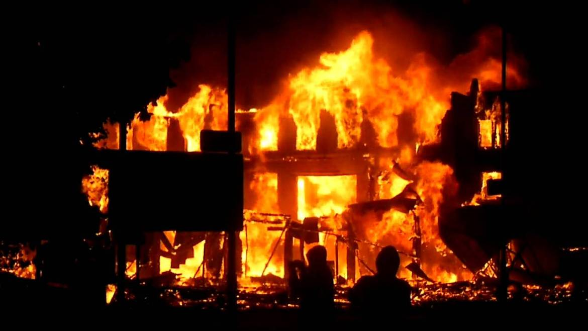 JUST IN: Another gas explosion in Lagos
