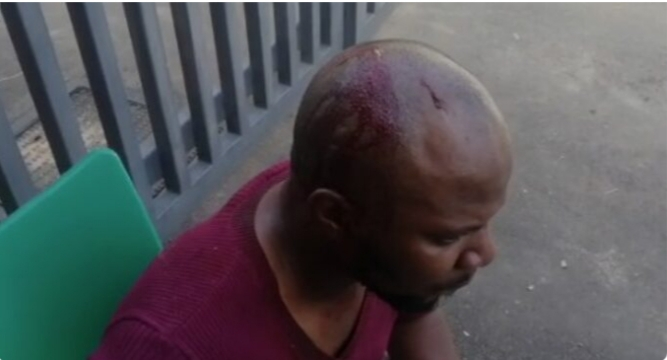 VIDEO: ARISE TV cameraman attacked by police after ban on SARS