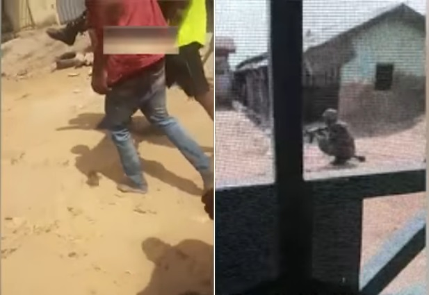 VIDEO: Shocking Moment Soldier Shoots Unarmed Abuja Civilian In Broad Daylight