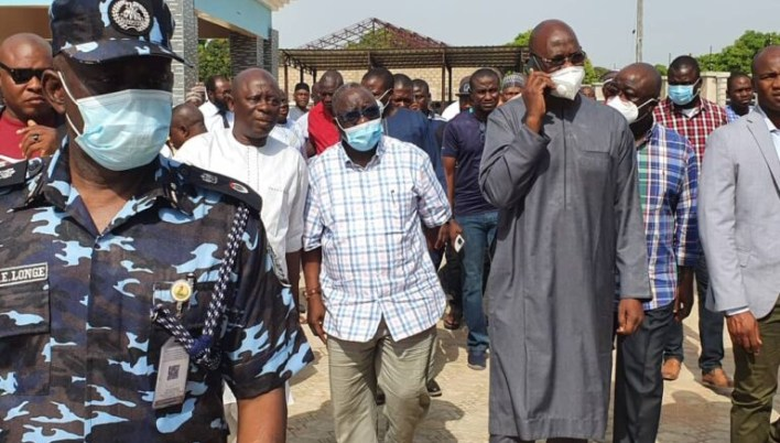 PHOTOS: Nasarawa governor visits family of murdered APC chairman