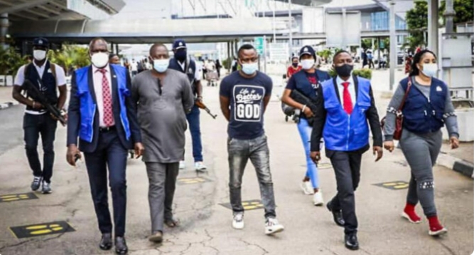 Interpol nabs three Nigerians 'who scammed 50,000 victims worldwide'