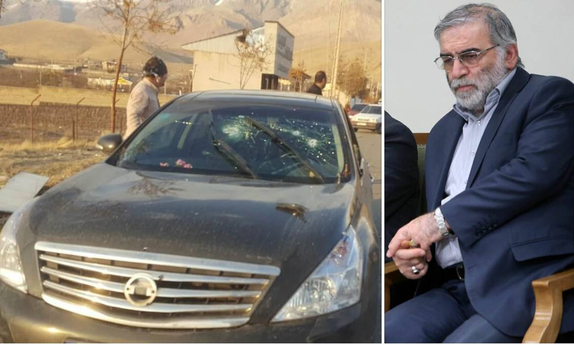 Iran Reveals 'Killers' Of Nuclear Scientist; Fakhrizadeh