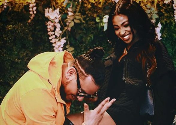 AKA and girlfriend get loved-up in new photo