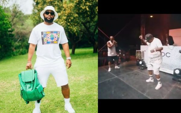 Cassper Nyovest celebrates his dad's birthday with a special video