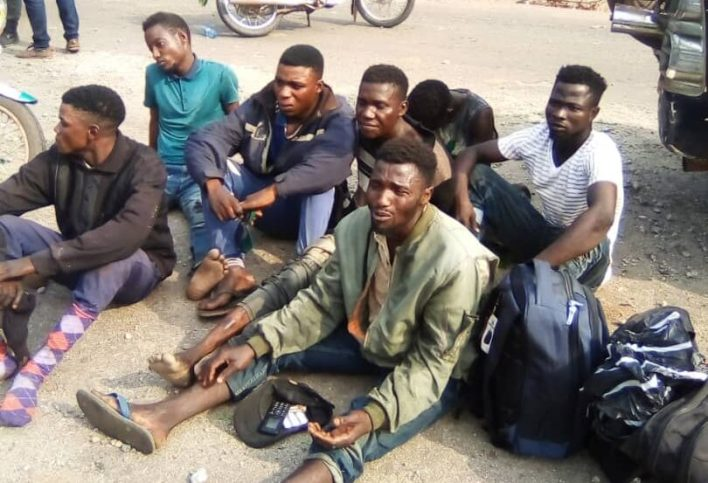 Suspected Kidnappers Arrested In Edo