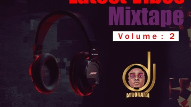 Dj AfroNaija – Latest Vibes Mixtape ( Vol. 2 )