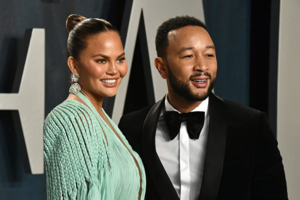 Chrissy Teigen and husband, John Legend honour late son with a matching tattoo