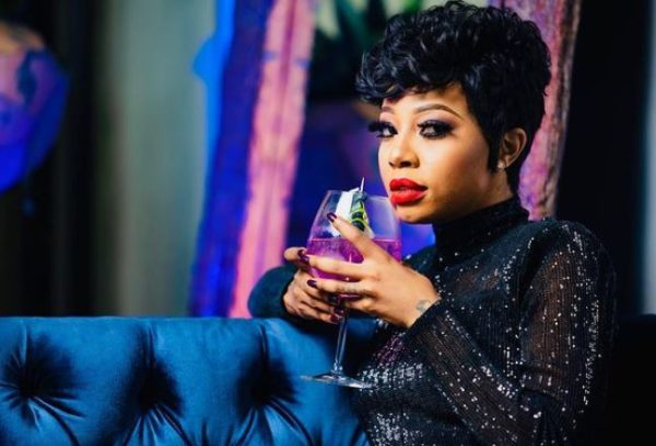 Kelly Khumalo's gin awarded gold