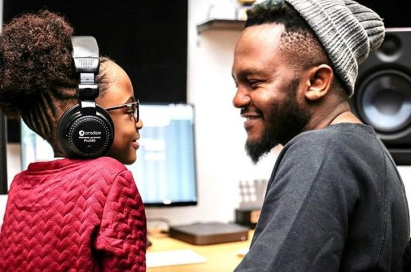 "Kwesta struggles dancing to ""Despacito"" with his daughter – Watch"