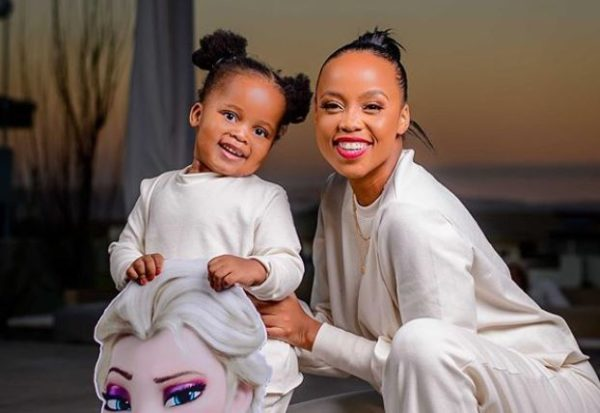 Photos: Ntando Duma and daughter, Sbahle rocks matching outfit
