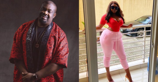 """""""If I die, I die"""" – Actress Nazo Ekezie shoots her shot at Don Jazzy, he replies"""