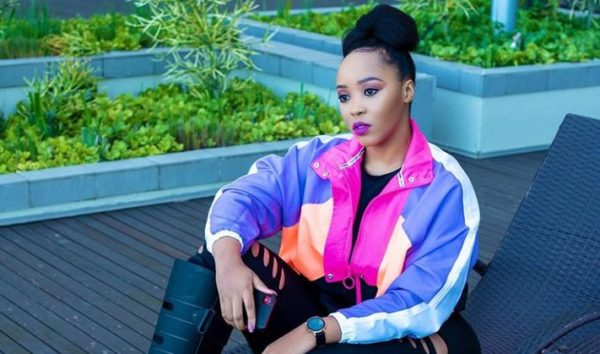 Sbahle Mpisane shows off her funny-cute face in recent post
