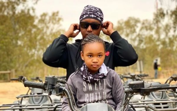 Shimza's daughter proves to be amazing | See what she did
