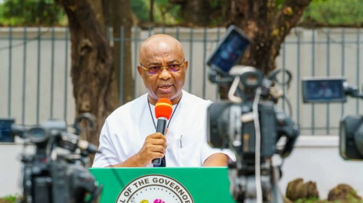 I used to be an orphan as APC governor until Umahi's defection, says Uzodinma