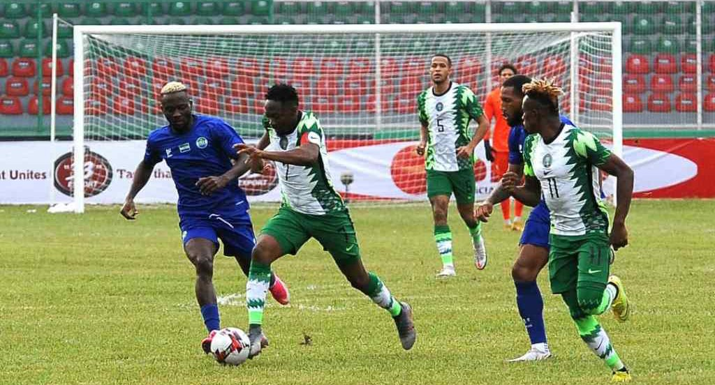 AFCON Qualifier: Super Eagles Captain, Ahmed Musa apologises for team's performance against Sierra Leone