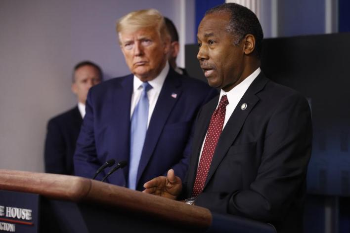 Ben Carson Tests Positive For Covid-19 Days After Attending Trump Election Night Party