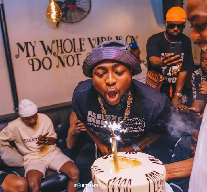 Check out photos and videos from Davido's 28th beach birthday party