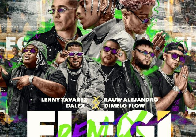 Rauw Alejandro & Dalex & Lenny Tavarez Ft. Sech & Justin Quiles & Farruko & Anuel AA & Dimelo Flow - Elegí Remix