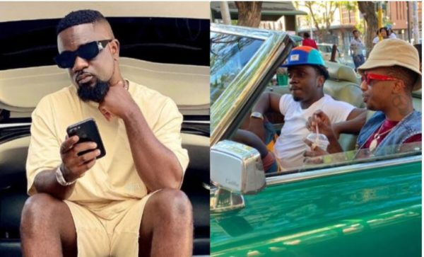 Sarkodie reacts to Emtee's upcoming collaboration with Kweku Smoke