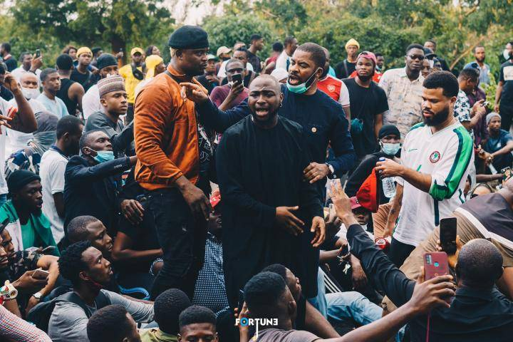 How Female Protesters Gave Me Courage To Join #EndSARS Campaign – Davido Reveals