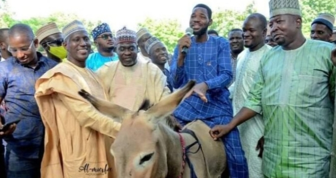 Ganduje's aide empowers youth with donkeys