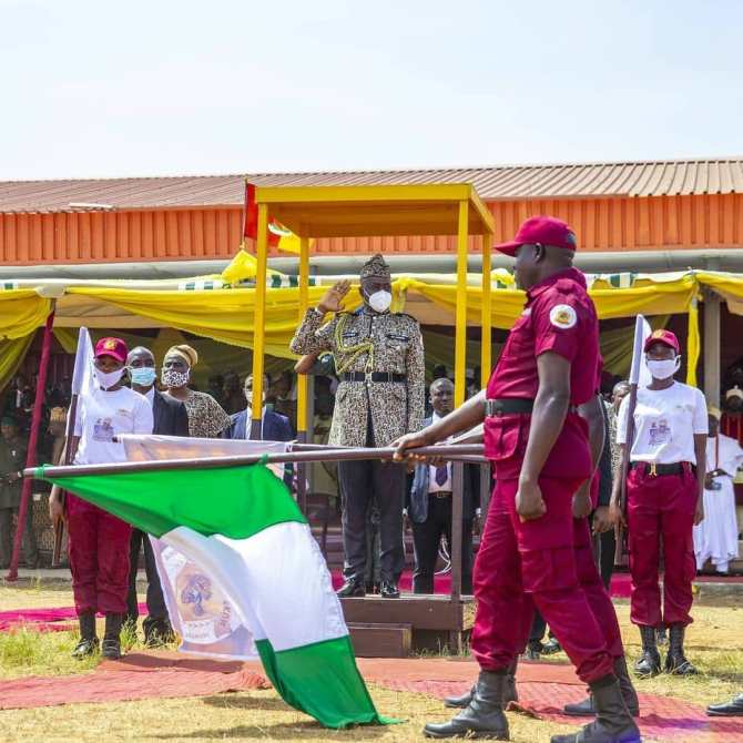 PHOTOS: Amotekun Corps will be answerable to me, says Makinde