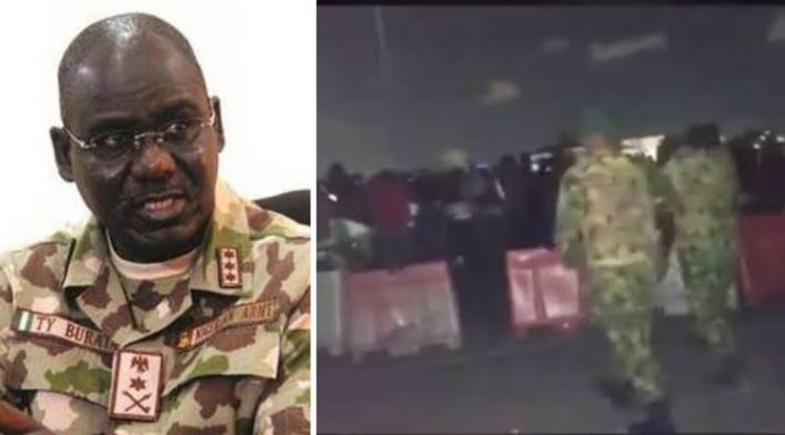 #EndSARS: We have not been petitioned over shootings at Lekki – Nigerian Army