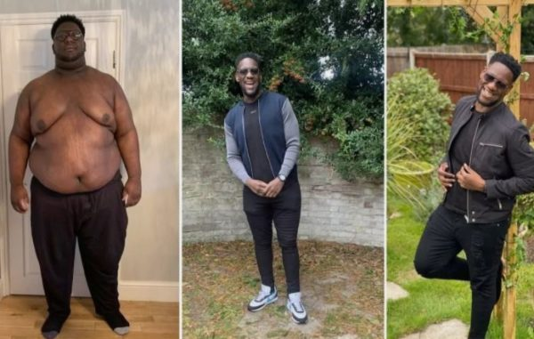 Wow! Young man opens up on his weight loss journey