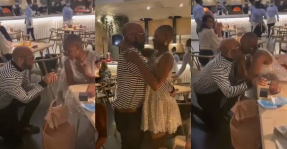 Viral video of Sangoma's dreamy engagement proposal melts hearts