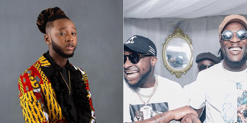 """""""Nobody Wins When The Family Feuds""""- Yung6ix Calls On Davido, Burna Boy To End 'Beef'"""