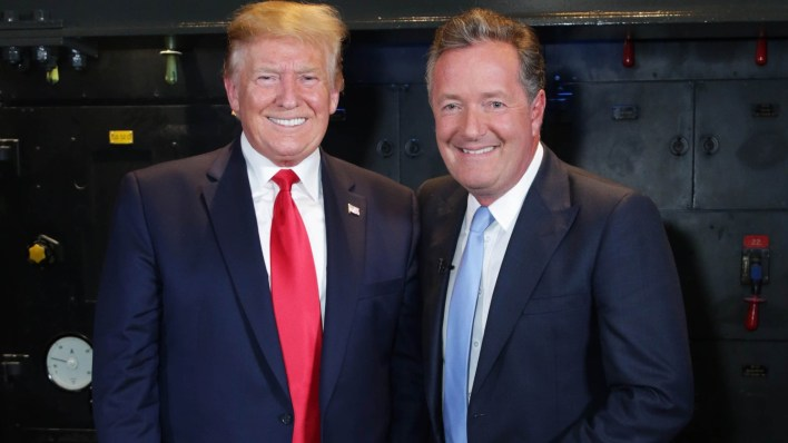 Piers Morgan to Donald Trump: It is over, done and finished