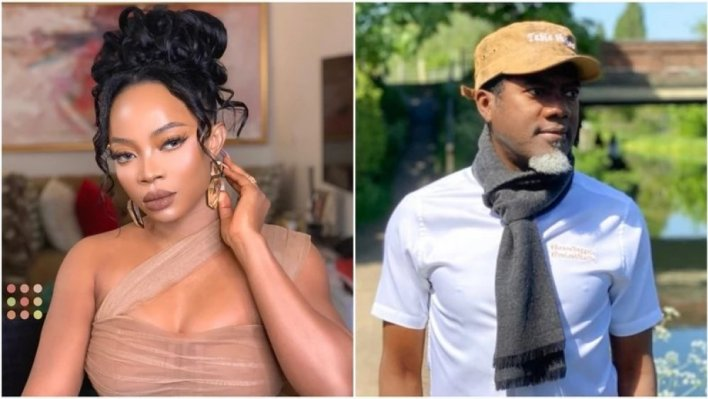 Toke Makinwa Clashes With Omokri Over Post On 'Bleached Divorcee Slay Queens'