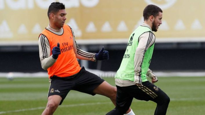 Real Madrid Duo Hazard And Casemiro Test Positive For Covid-19