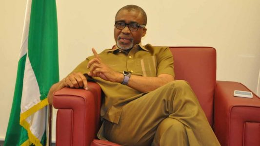 The Only Person From South East In The Aso Villa Is A Photographer — Abaribe