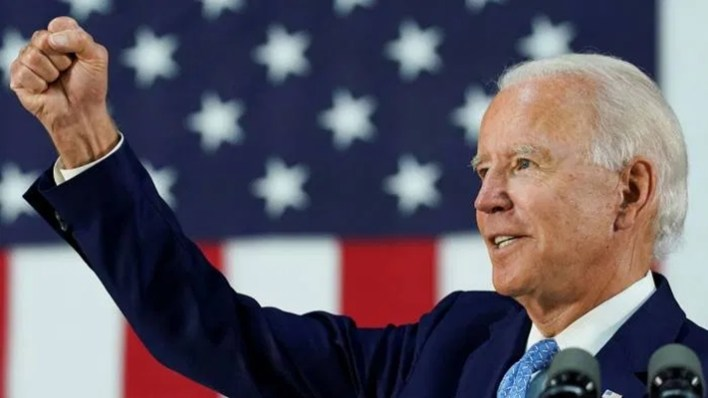 US Election: Davido, Peter Okoye,Fani-Kayode, react to Joe Biden's victory