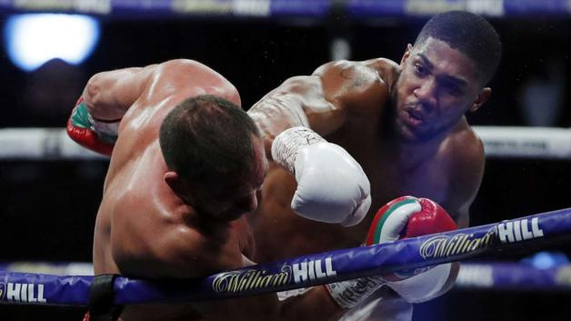 PHOTOS: Anthony Joshua 'demolishes' Pulev to set up potential Tyson Fury fight