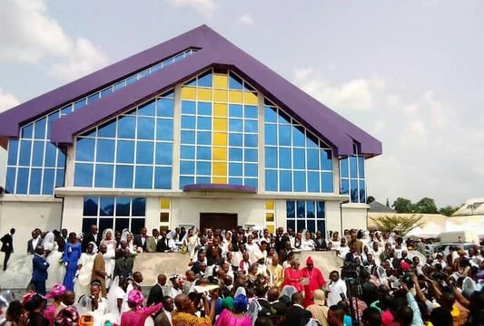 Over 150 Couples Tie The Knot In Anambra Mass Wedding Ceremony (Photos)